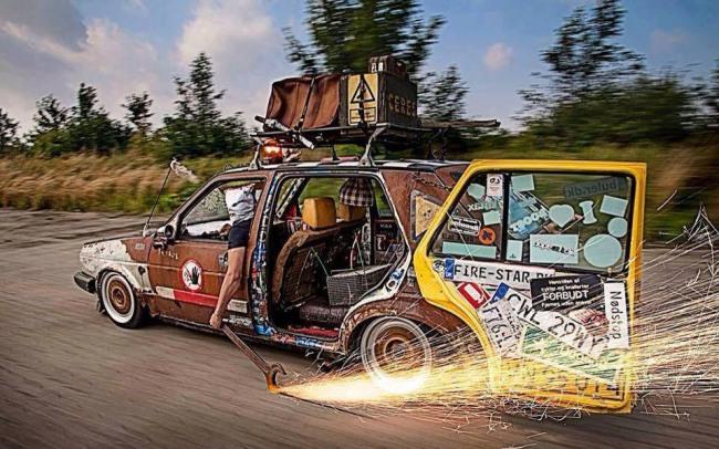 Фото прикол  про автомобілі
