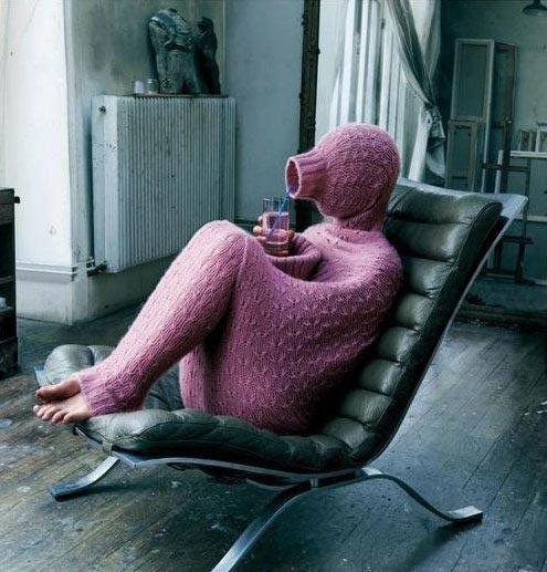 Фото прикол  про одяг та холод