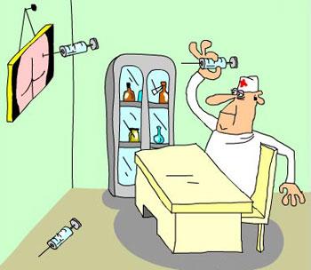 Малюнок  про лікарів