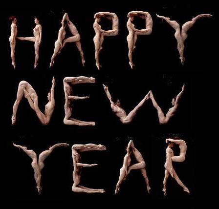 Фото прикол  про новий рік, роздягнених людей вульгарний