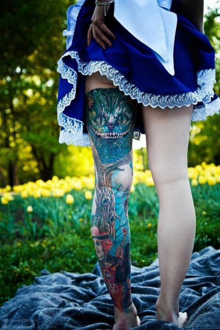 Фото прикол  про татуювання