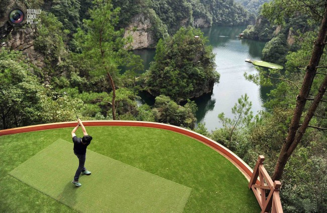 Фото прикол  про гольф