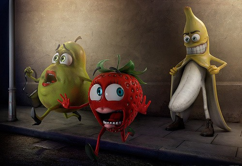 Малюнок  про банан