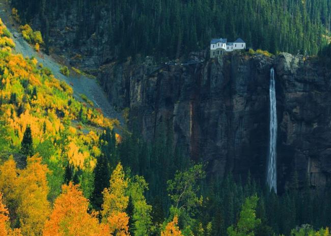 Фото прикол  про мою хату з краю та осінь
