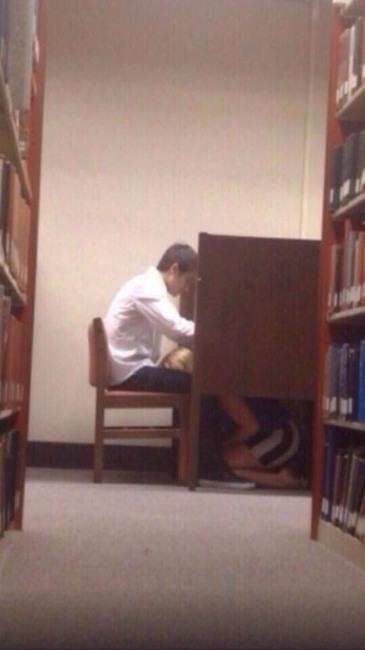 Фото прикол  про бібліотеку, мінет вульгарний