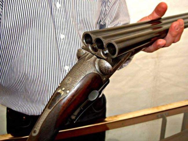 Фото прикол  про зброю