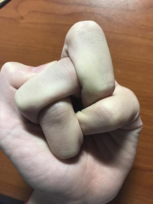 Фото прикол  про пальці