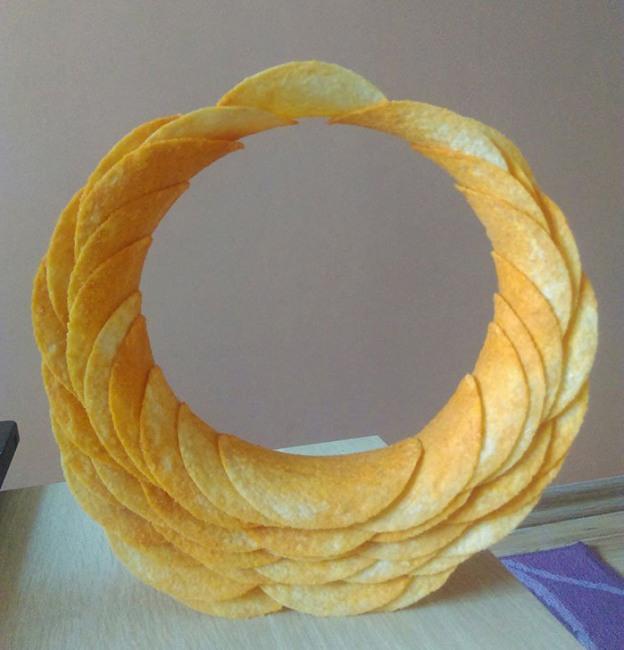 Фото прикол  про чіпси
