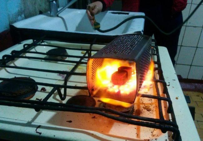 Фото прикол  про приготування їжі