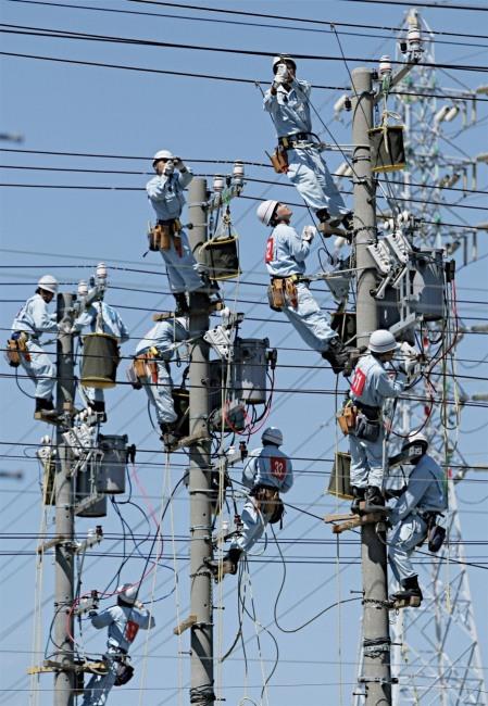 Фото прикол  про електриків