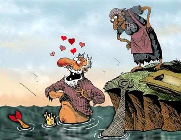 Малюнок  про золоту рибку вульгарний