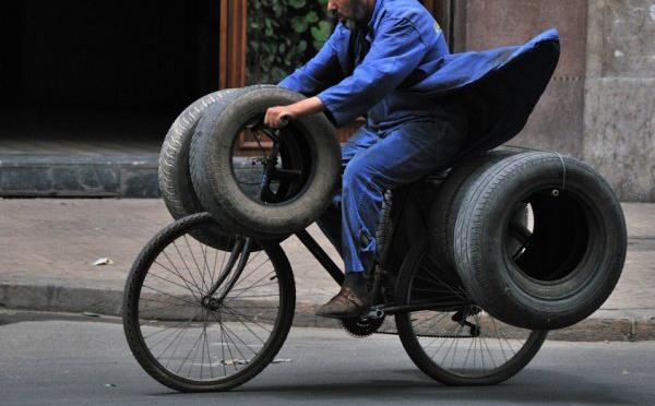 Фото прикол  про колесо
