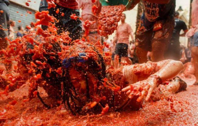 Фото прикол  про помідори