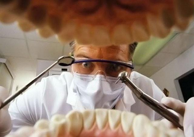 Фото прикол  про стоматологів
