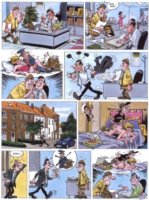 Малюнок  про подружню невірність, секс комікс
