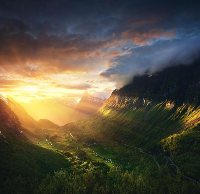 Фото прикол  про гори