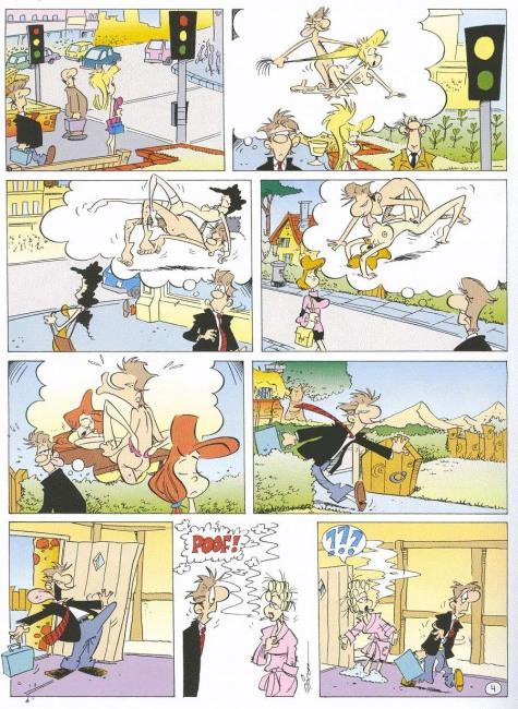 Малюнок  про уяву, секс, вульгарний комікс
