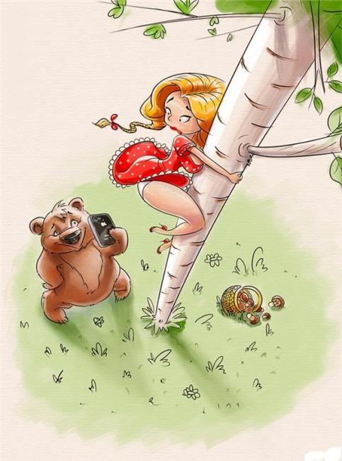 Малюнок  про ведмедів