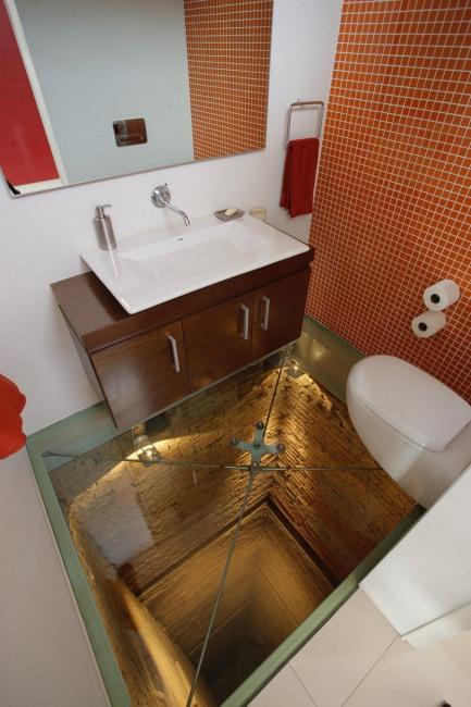 Фото прикол  про підлогу та туалет