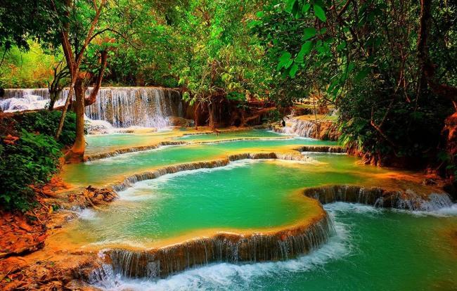 Фото прикол  про водоспад