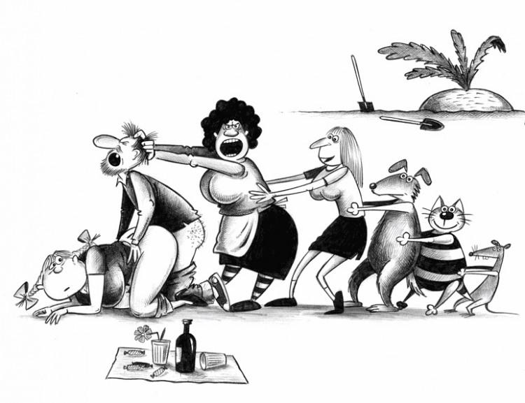 Малюнок  про ріпку вульгарний