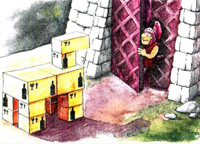Малюнок  про троянського коня журнал перець