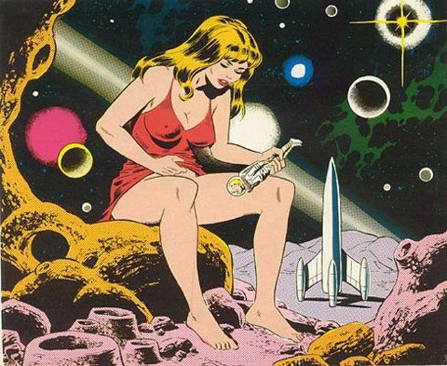 Малюнок  про космонавтів, мастурбацію вульгарний