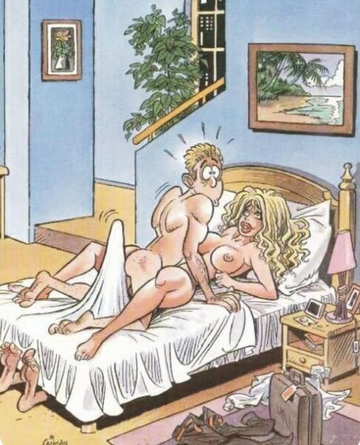 Малюнок  про секс, ерекцію вульгарний