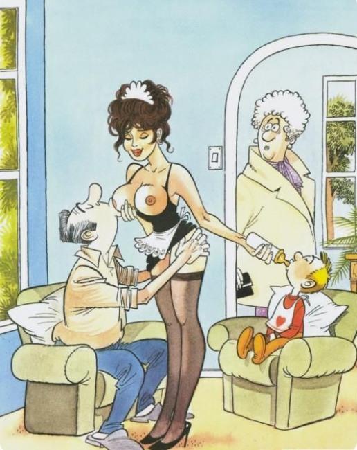 Малюнок  про няню вульгарний