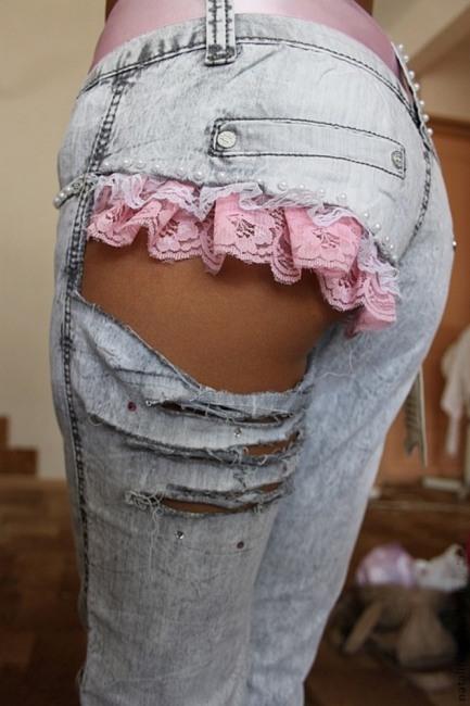 Фото прикол  про джинси, дірку, сідниці вульгарний