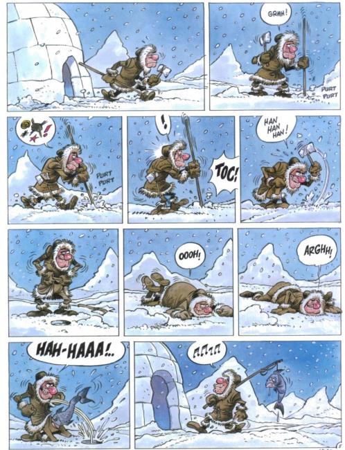 Малюнок  про риболовлю, вульгарний комікс