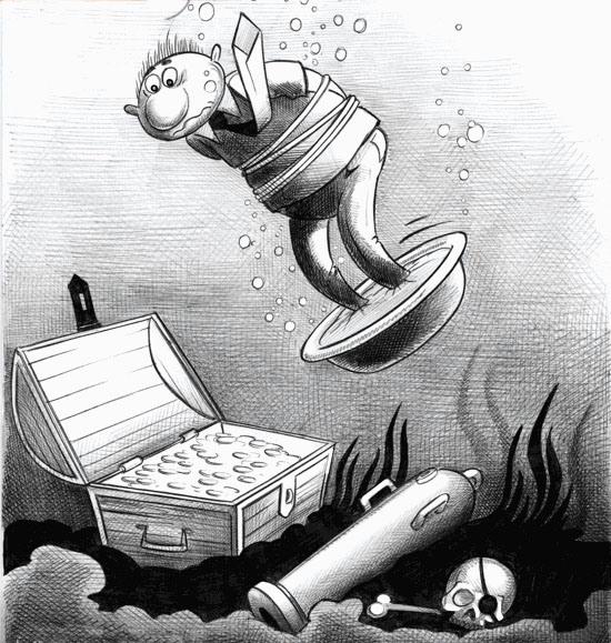 Малюнок  про вбивство чорний