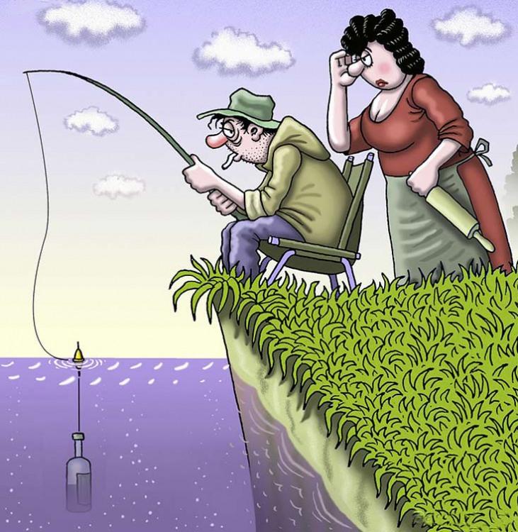 Малюнок  про риболовлю