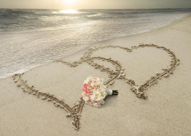 Фото прикол  про пляж та романтику