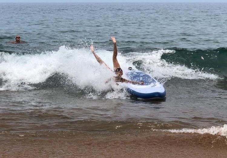 Фото прикол  про серфінг