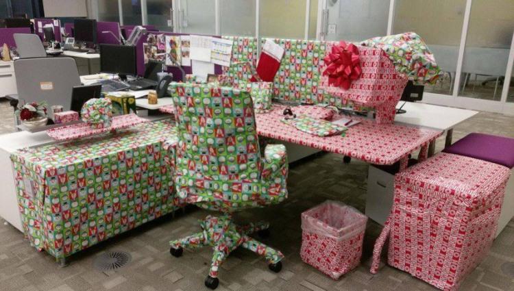 Фото прикол  про офіс та подарунки