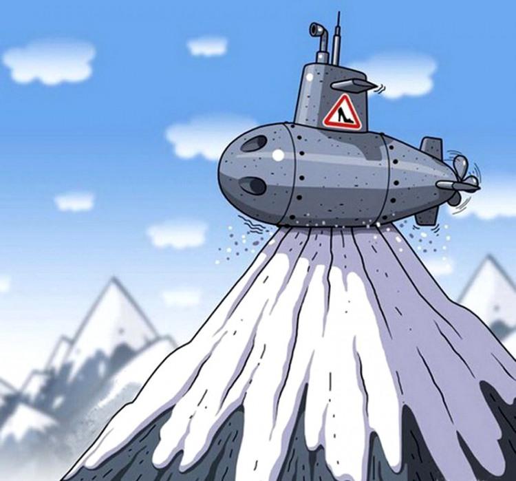 Малюнок  про підводний човен