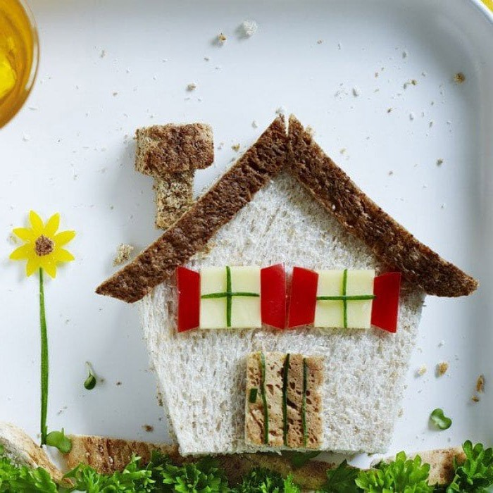 Фото прикол  про дім, хліб та їжу