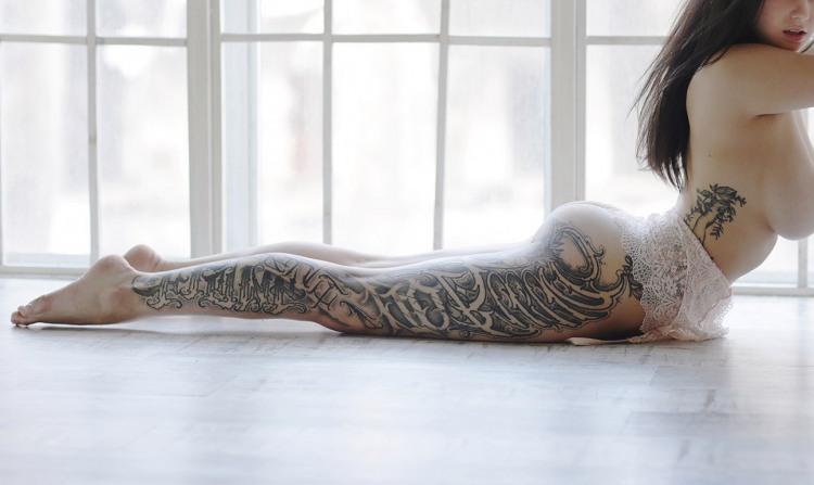 Фото прикол  про татуювання вульгарний
