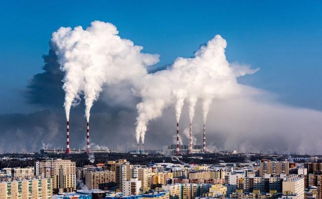Фото прикол  про дим та забруднення