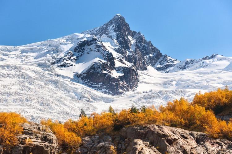 Фото прикол  про гори та осінь