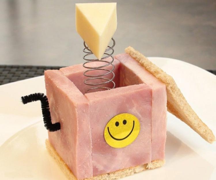 Фото прикол  про скриню та їжу