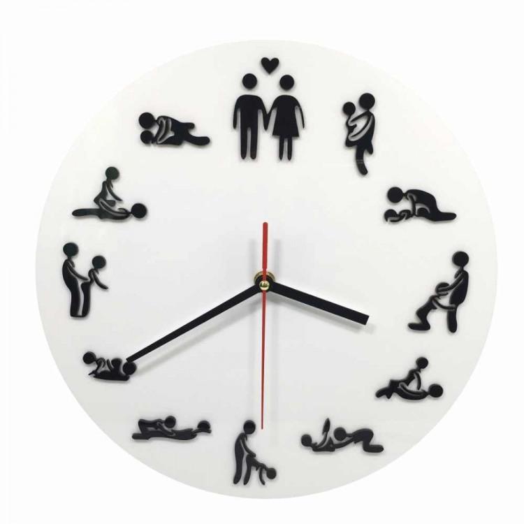 Фото прикол  про годинник, секс вульгарний