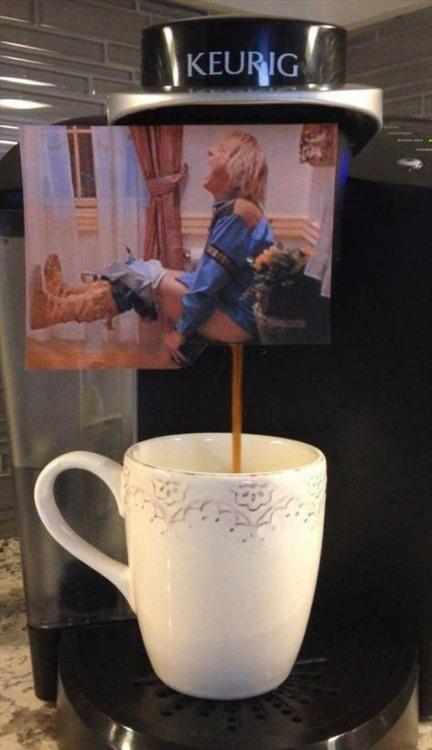 Фото прикол  про каву