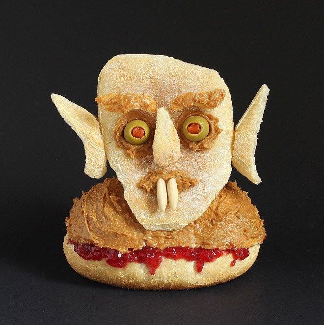 Фото прикол  про їжу та вампірів