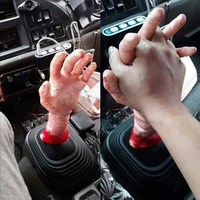 Фото прикол  про руки та автомобілі