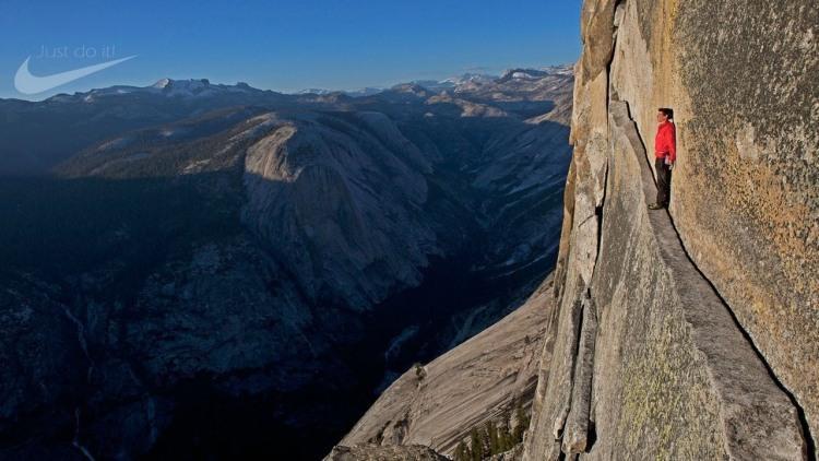 Фото прикол  про гори та екстрім