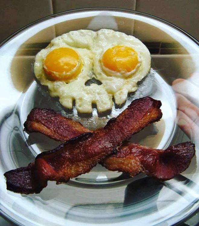 Фото прикол  про сніданок та їжу
