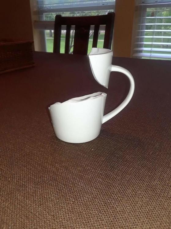 Фото прикол  про чашку