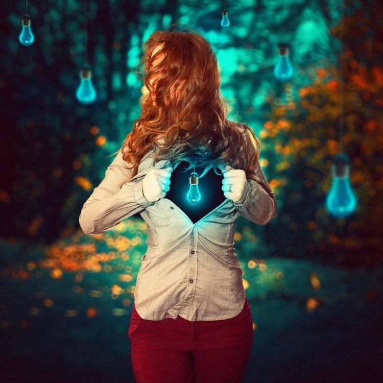 Фото прикол  про лампочку та душу